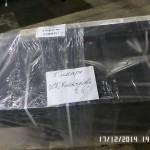 Упаковка стола для раскроя стекла